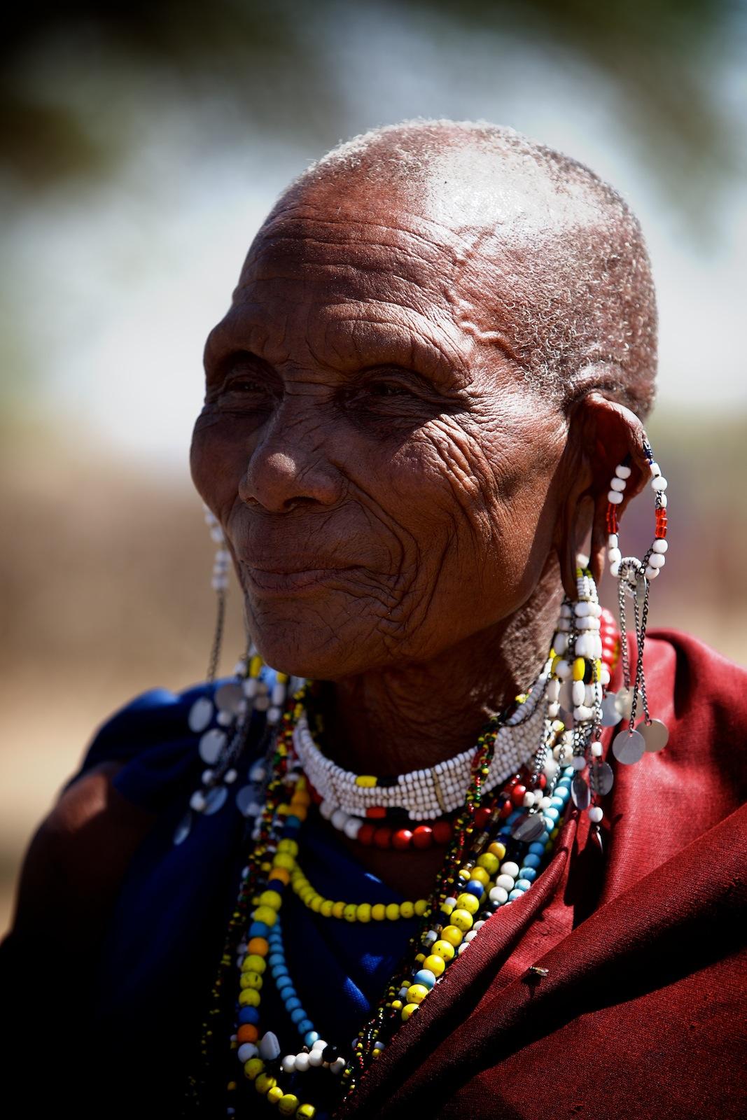 Masai kvinde
