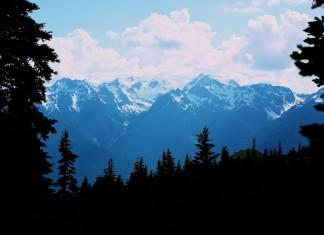 Bjerge i Washingon USA