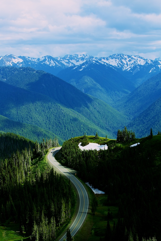 Bjerge i Washington USA 2