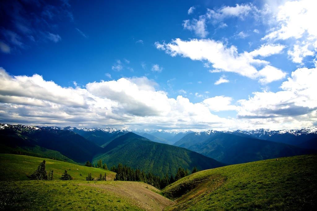 Bjerge i Washington USA 3