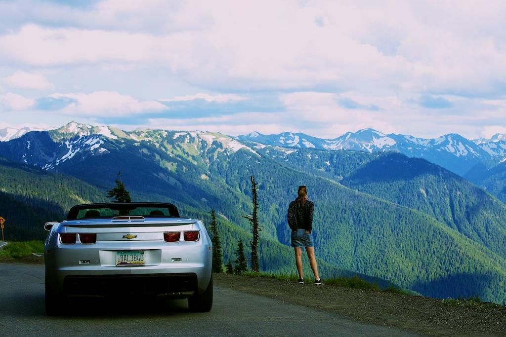 Bjerge i Washington USA 4