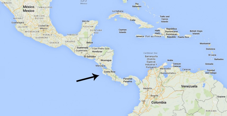 Hvor ligger Costa Rica