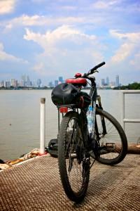 Cykeltur i Bangkok