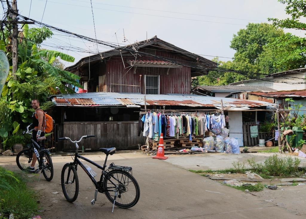 Cykle gennem Bangkok