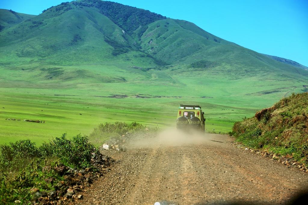 Safari i masai land