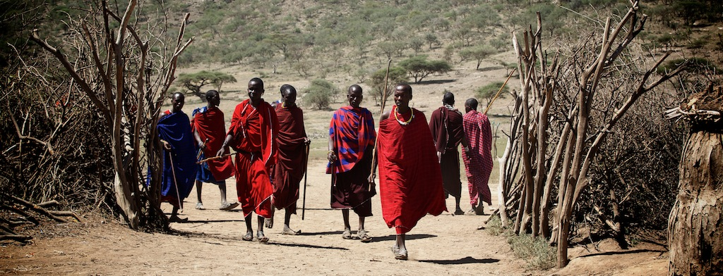 Masaier i Tanzania
