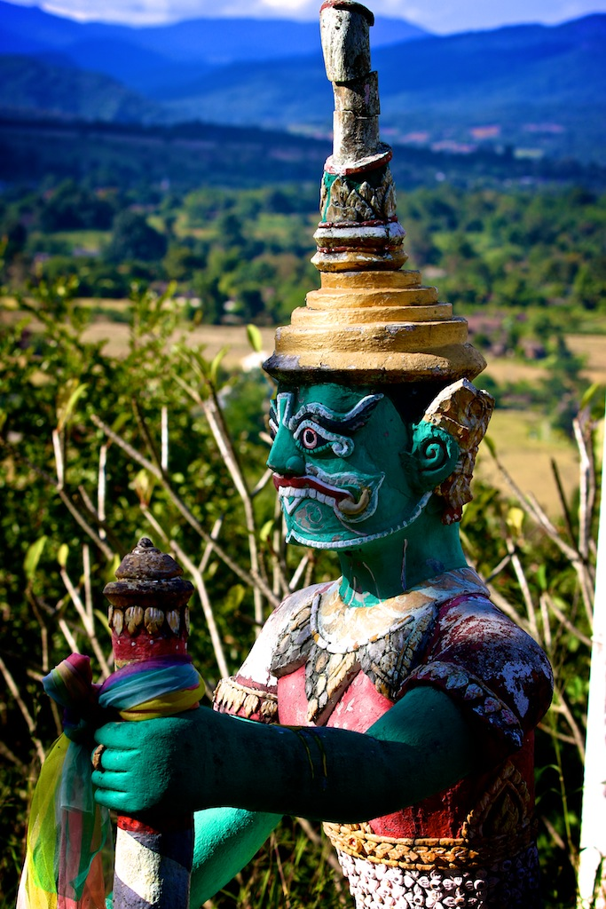 Shaman i Nordthailand 11