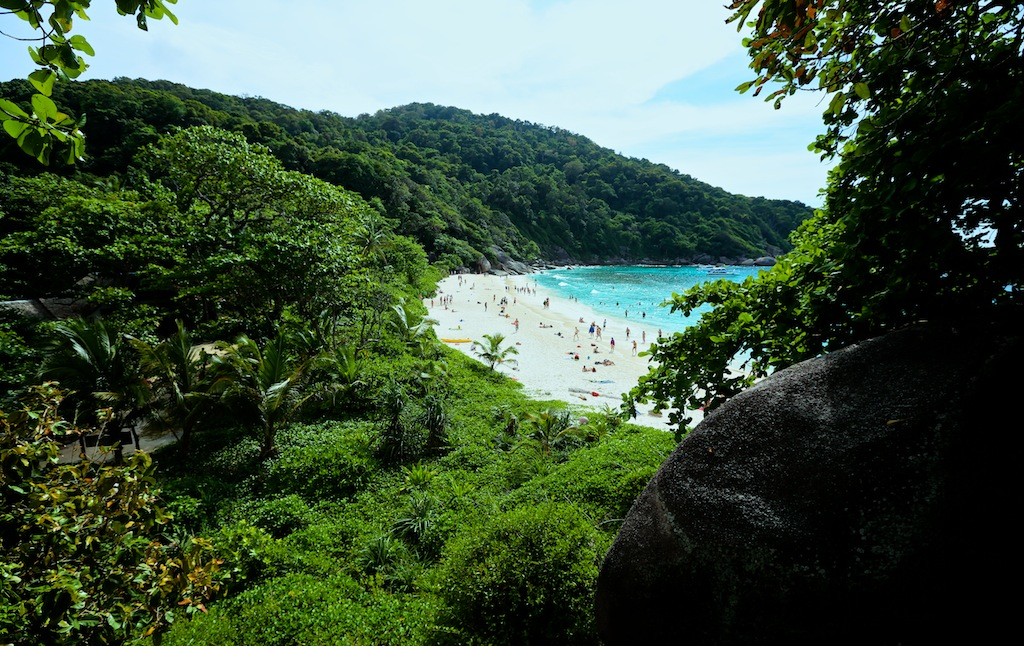 Strand på Similan Island