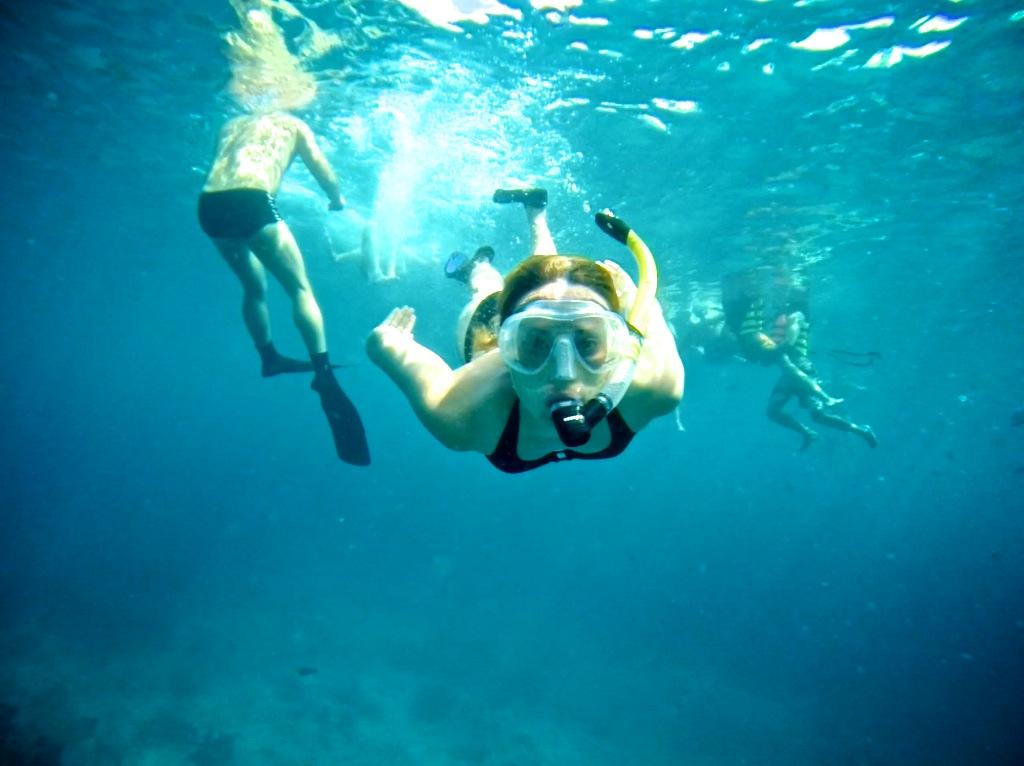 Snorkling på Similan