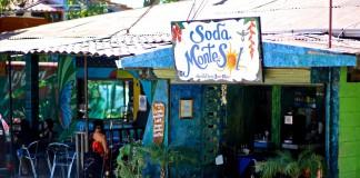 Soda restaurant i Costa Rica