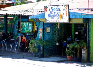 Soda restaurant i Costa Rica