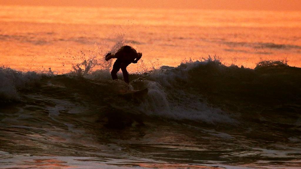 Surfing ved Santa Teresa 7