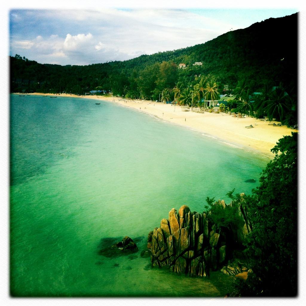 Bungalow på Koh Phangan 7