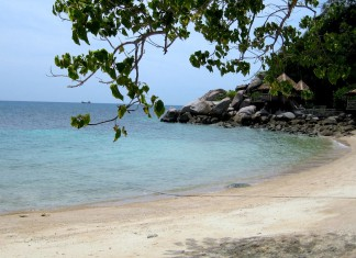Island hopping Koh Tao
