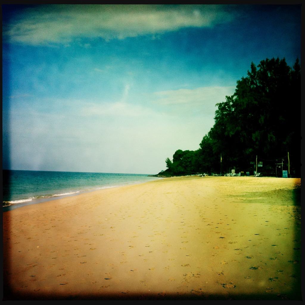 Strand på Koh Lanta