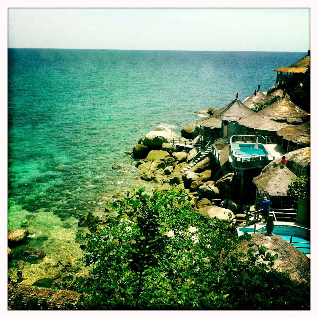 Strande på Koh Tao 4