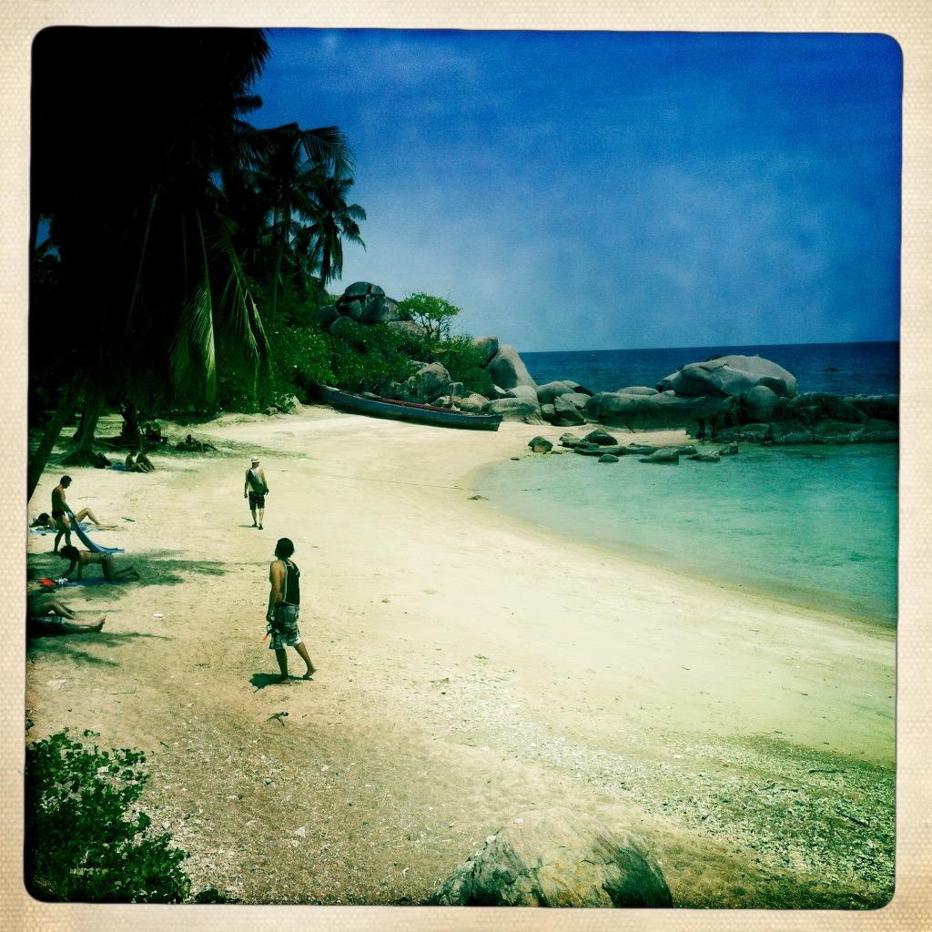 Strande på Koh Tao 5