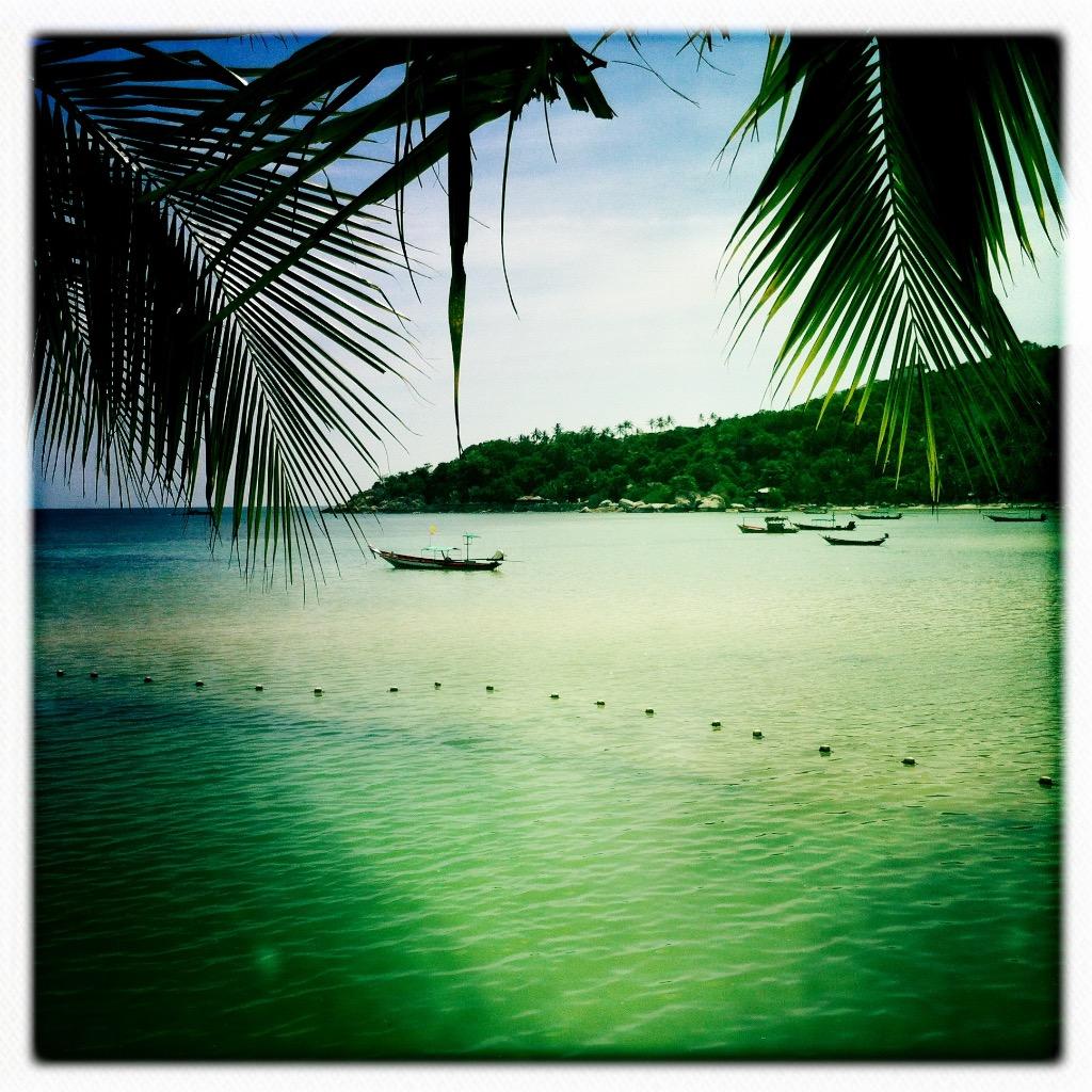 Strande på Koh Tao 7