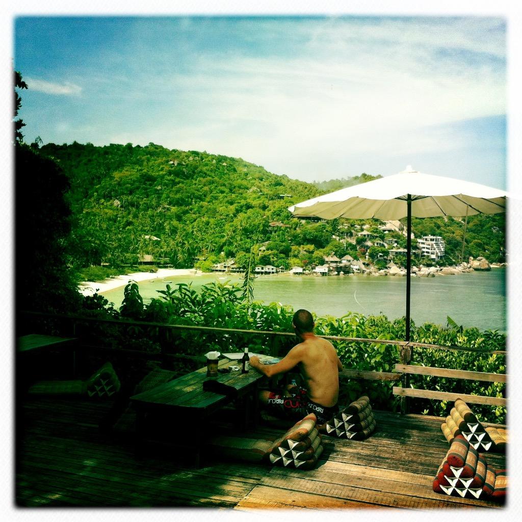 Strande på Koh Tao 8