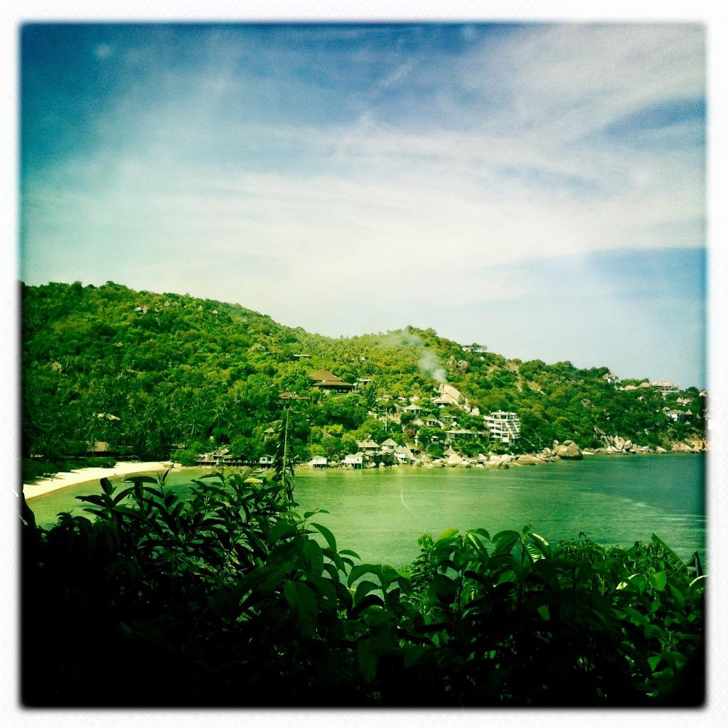 Strande på Koh Tao 9