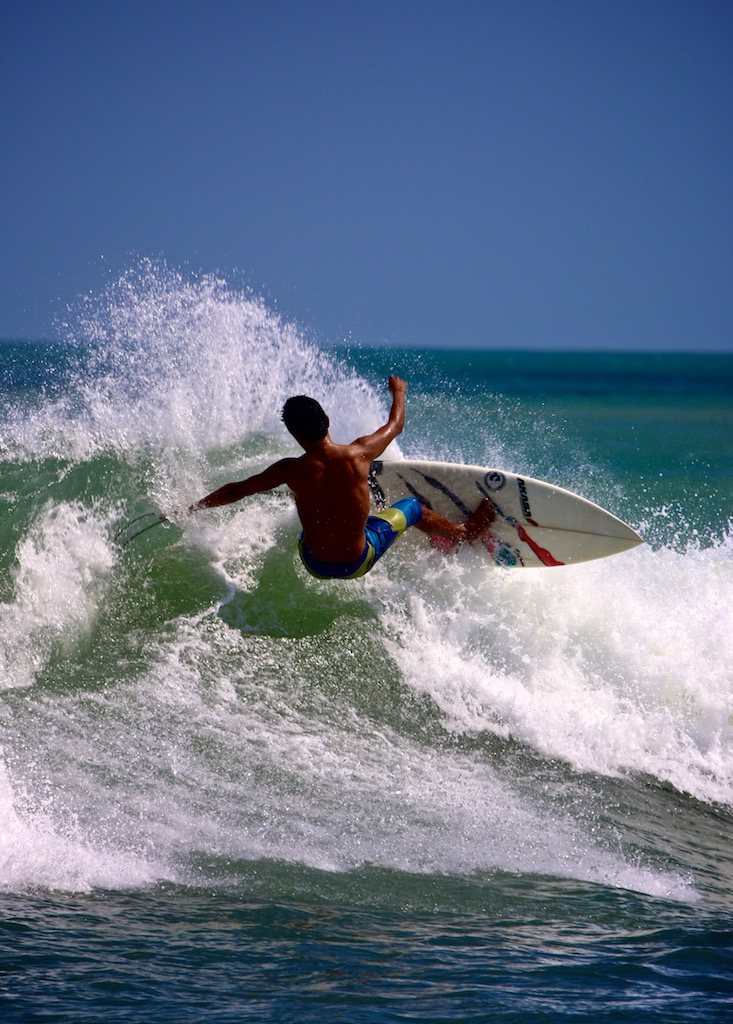 Surfer på Bali