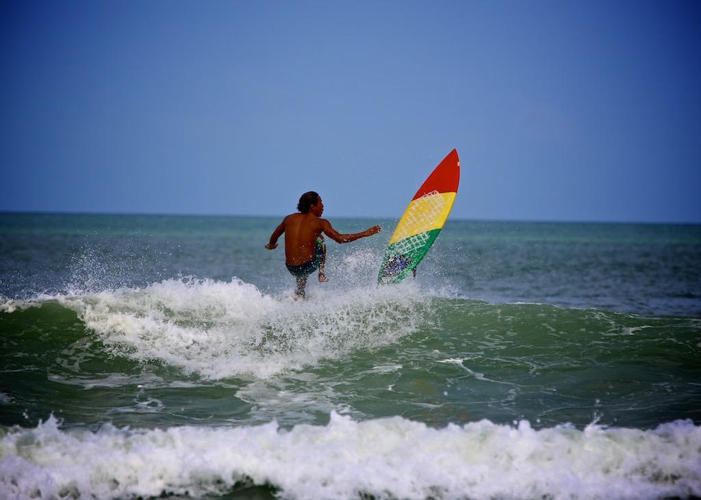 Surfing Bali 9