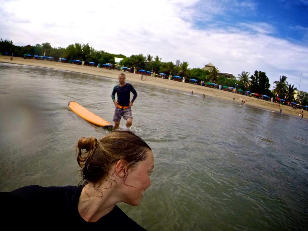 Surfing Kuta 5