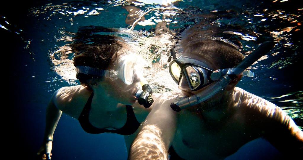 Snorkling ved Nusa Lembongan