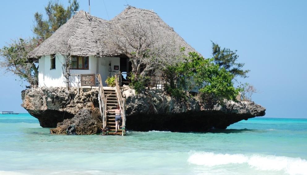 The Rock Restaurant på Zanzibar