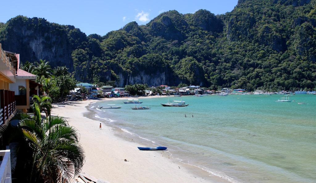 El Nido strand på Palawan i Filippinerne