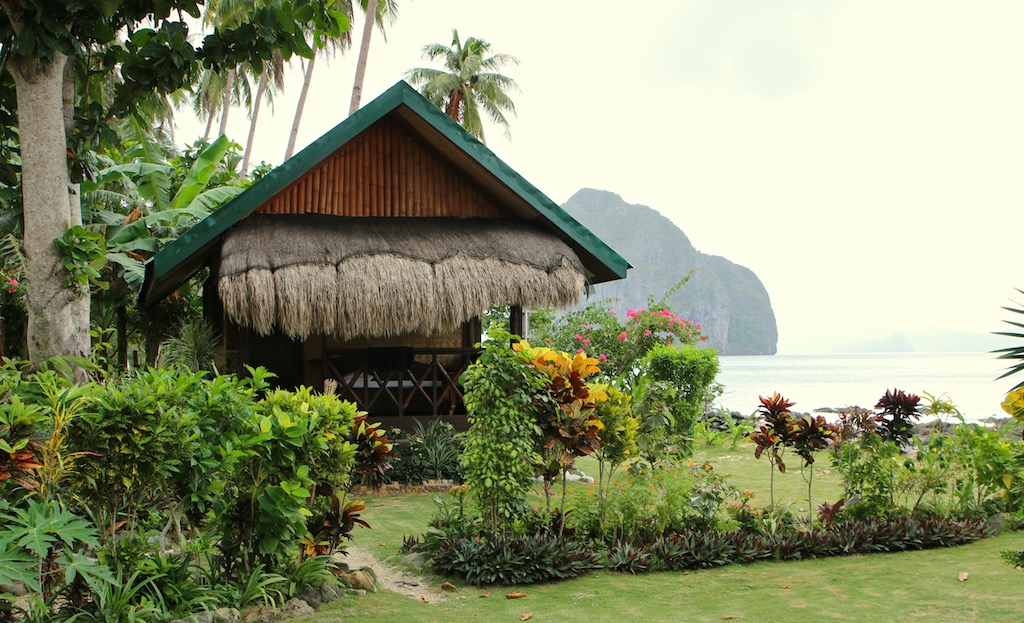 Bungalow på Las Cabanas_Palawan_Filippinerne