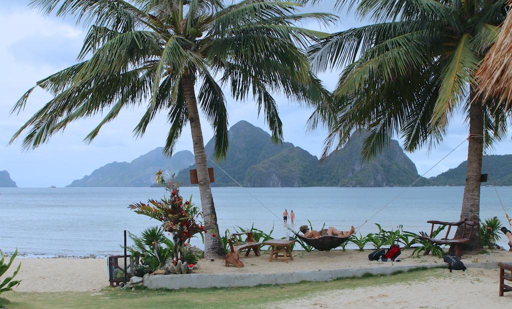 Stranden Las Cabanas_Palawan_Filippinerne