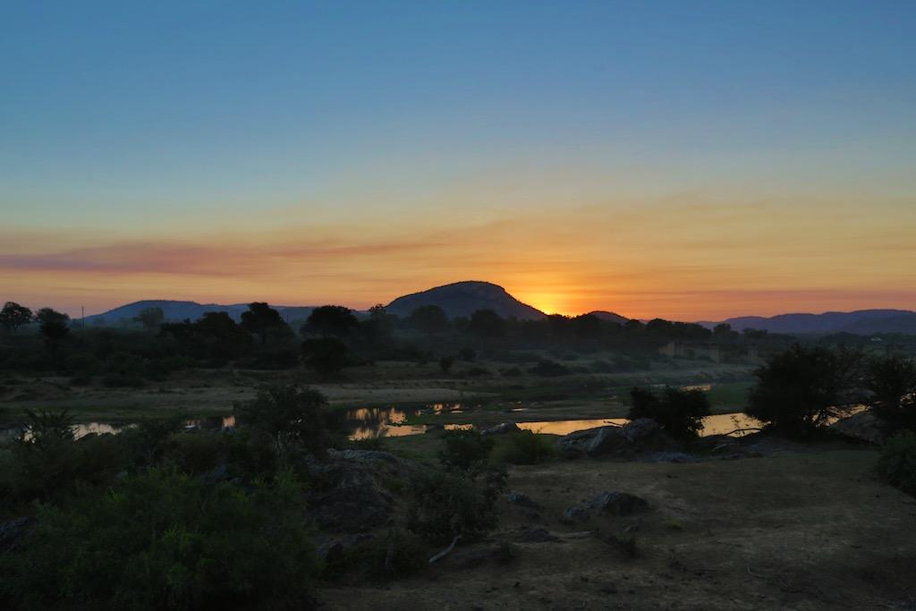 Solnedgang i Sydafrika_Kruger Nationalpark
