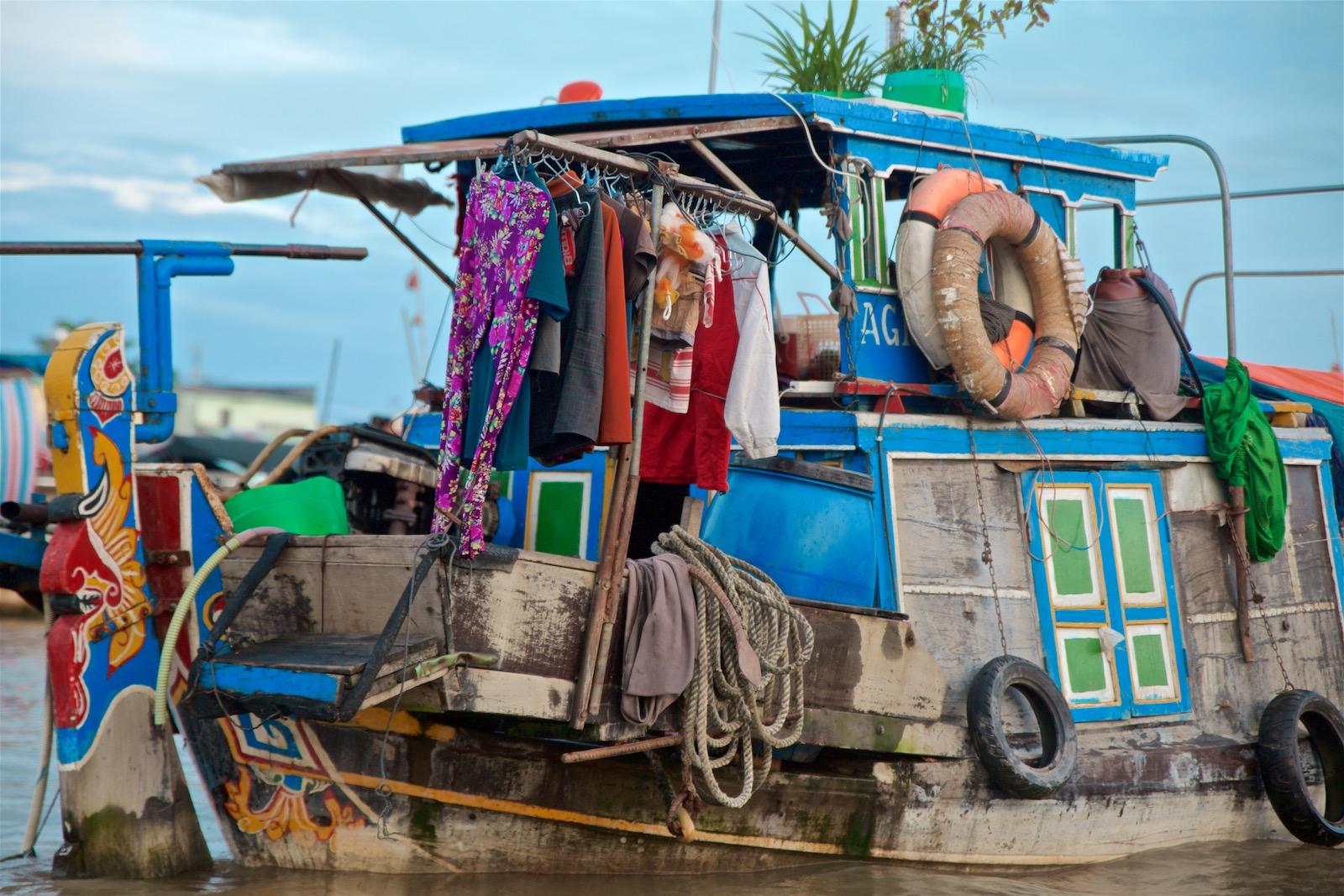 Livet på Mekongfloden