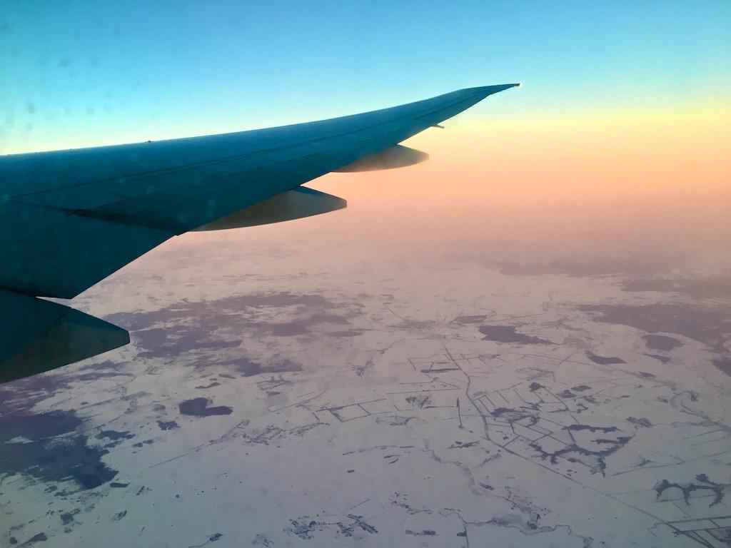 Rejsen med Aeroflot
