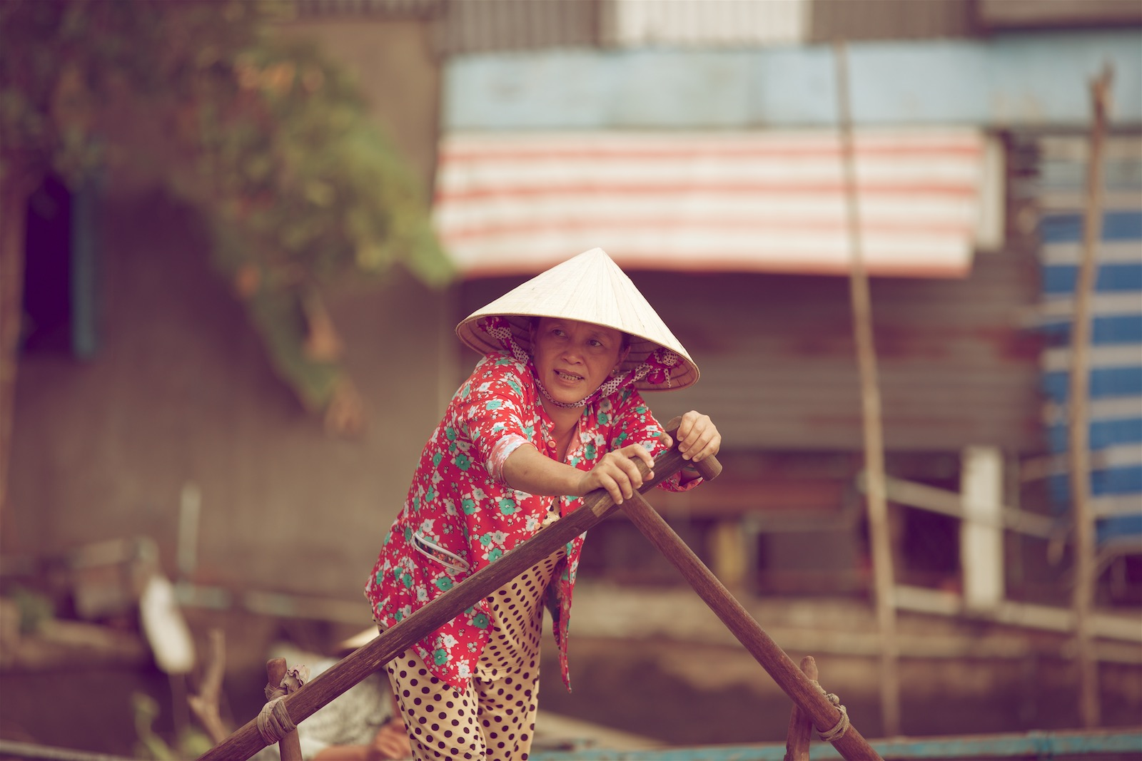 Mekongfloden Vietnam