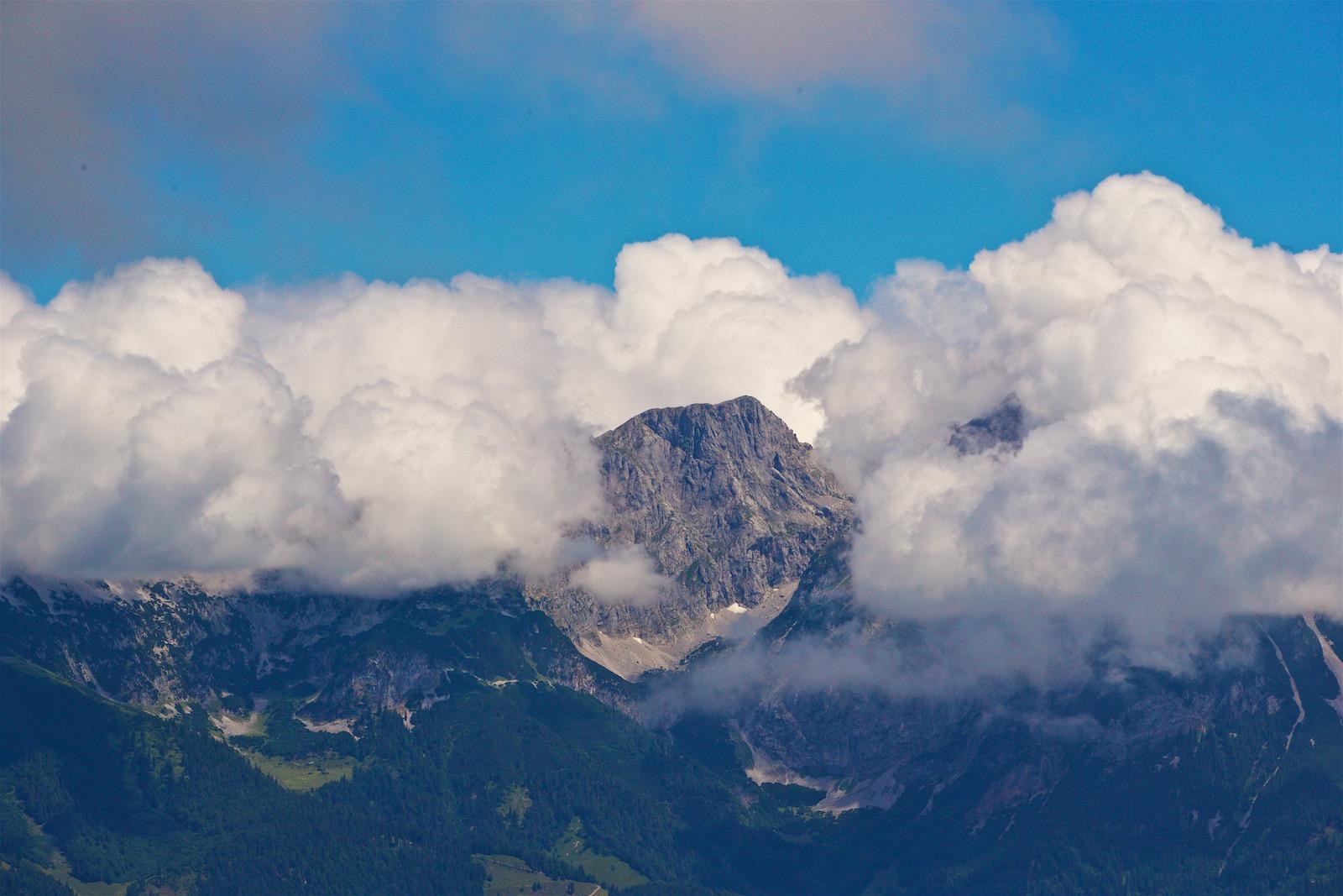 Wilder Kaiser bjerget i Alperne