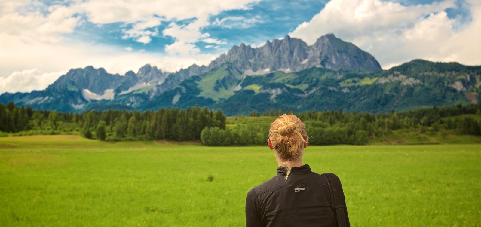 Alpetur i Østrig