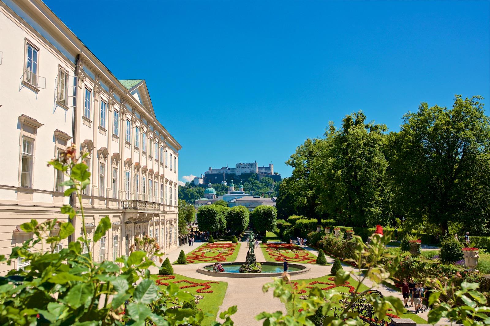 Salzburg Mirabell Schloss