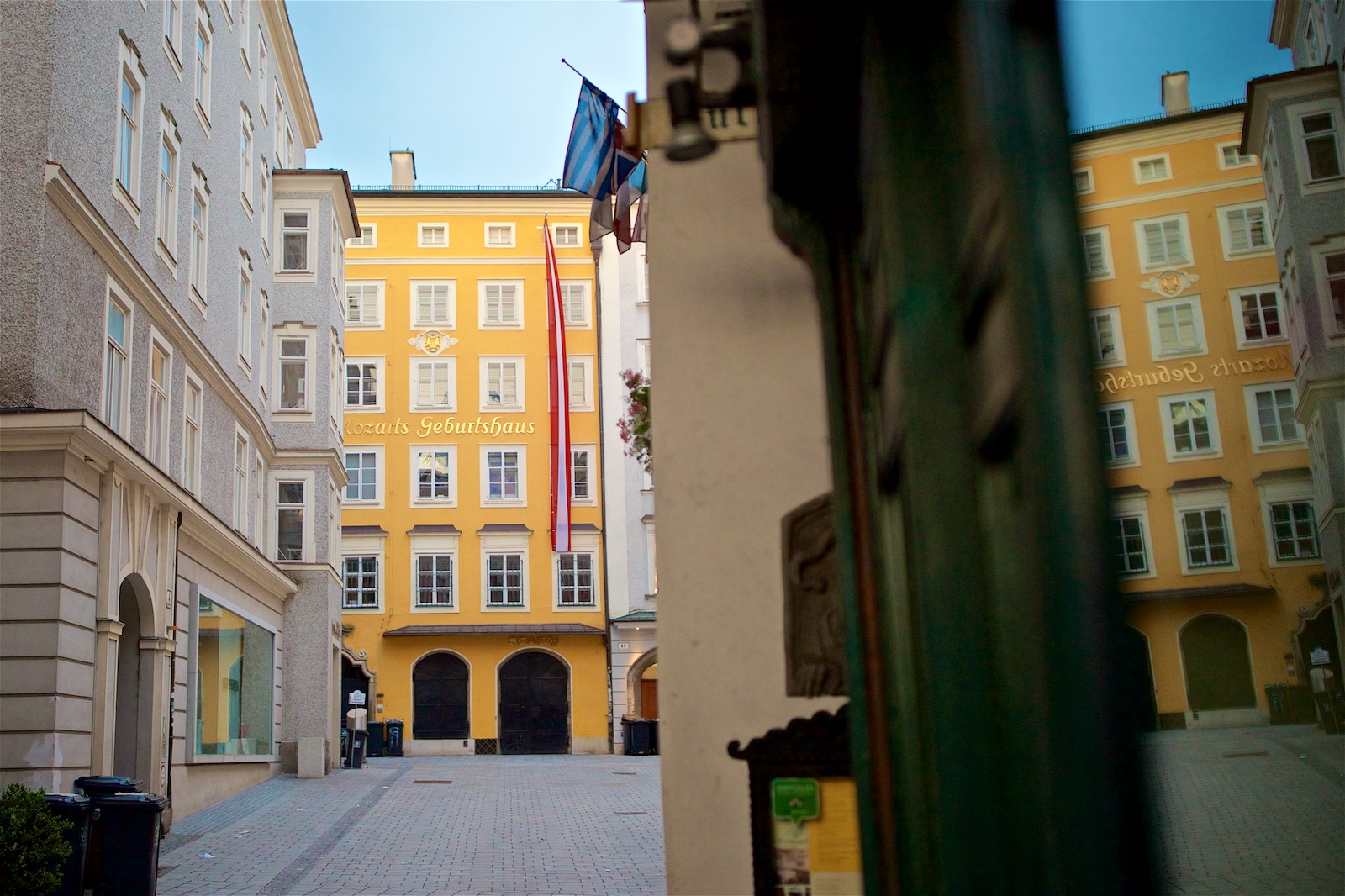 Mozarts hjem i Salzburg