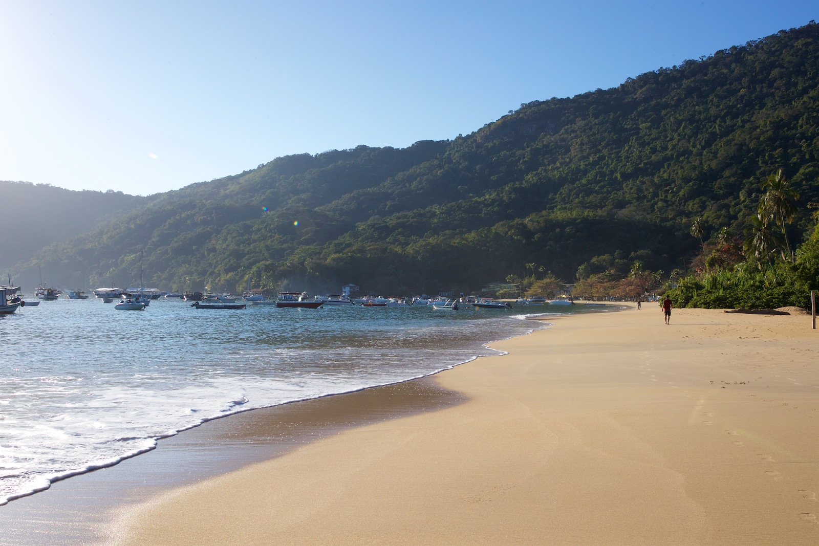 Strand ved Abraao - Ilha Grande