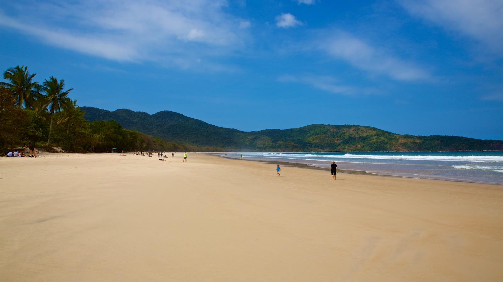 Lopes Mendes strand på Ilha Grande