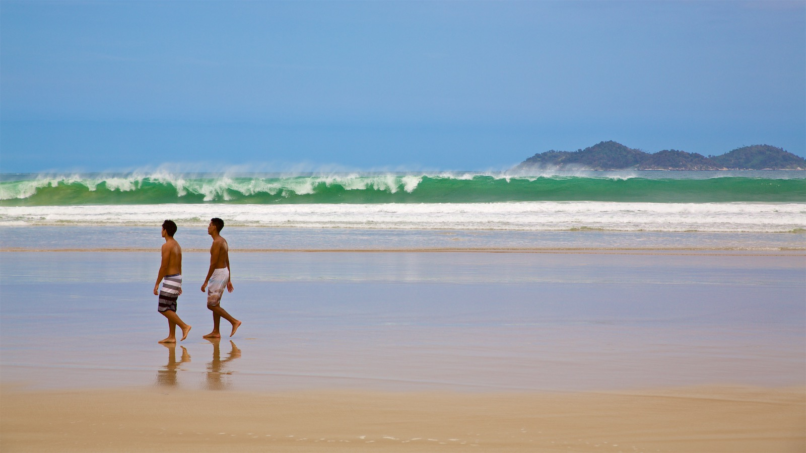 Smukkeste strand på Ilha Grande