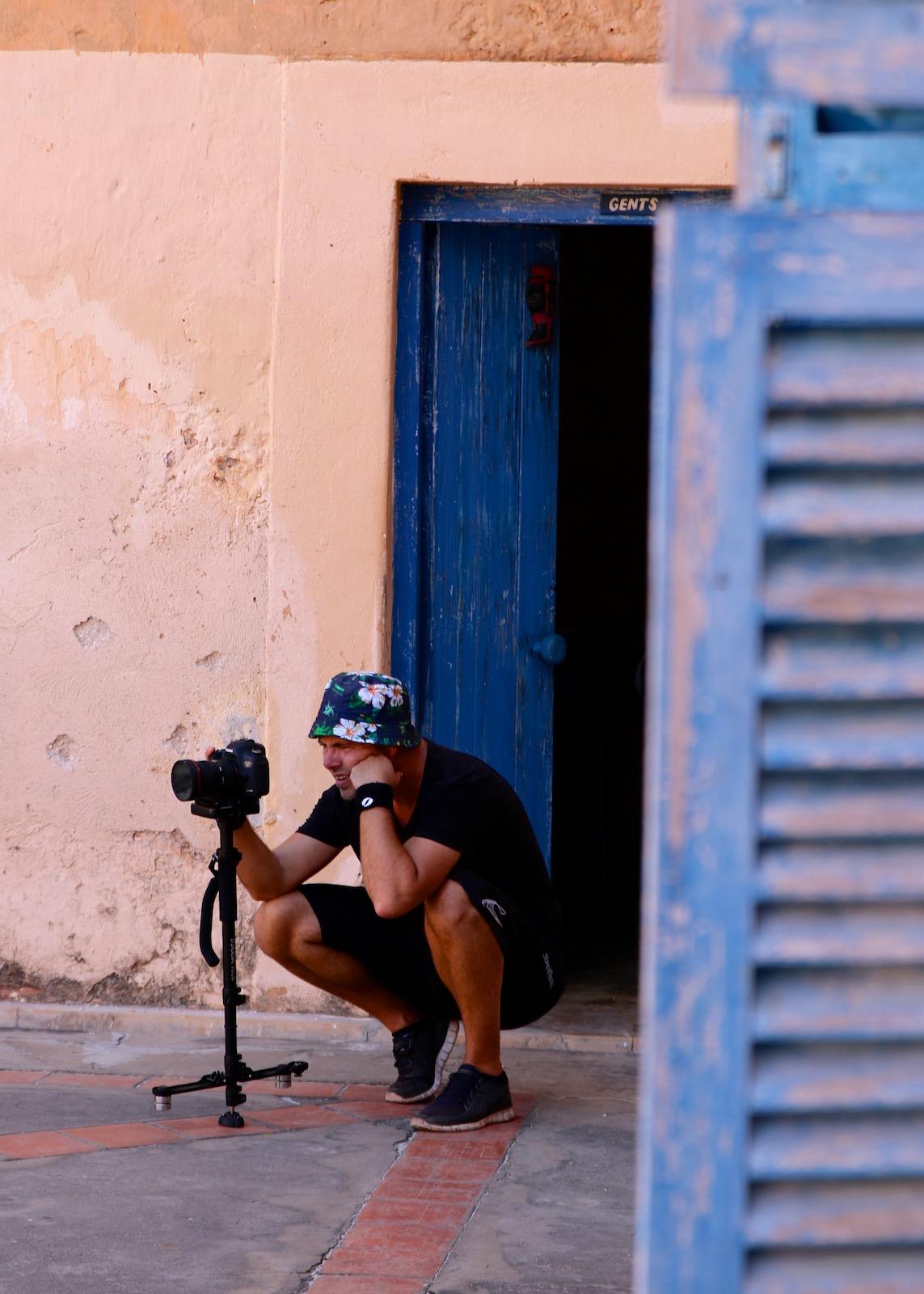 Fotoudstyr til rejse