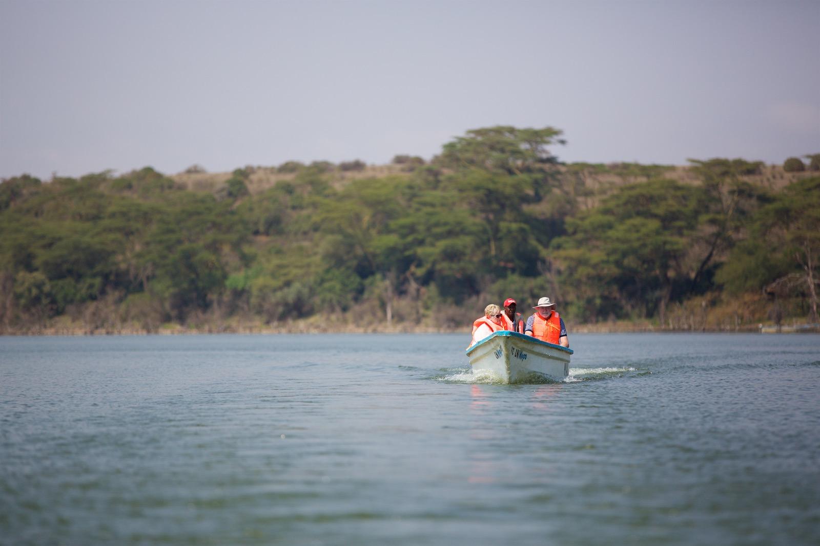 Flodheste safari Kenya