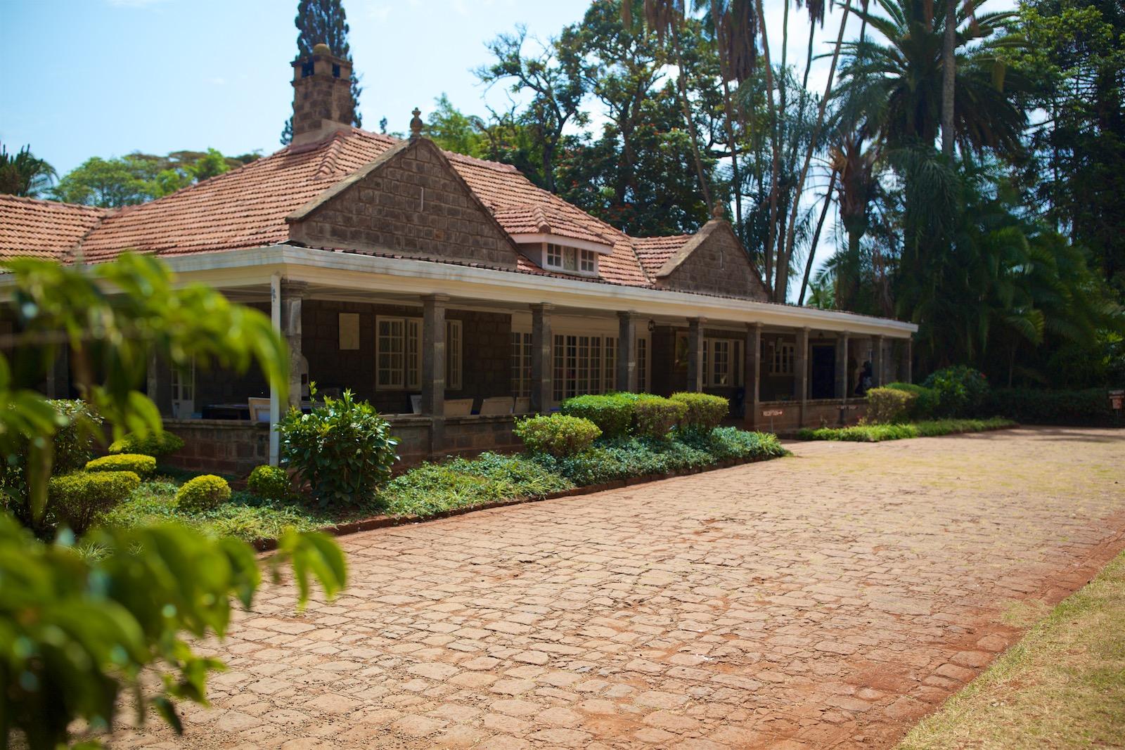 Karen Blixens farm i Nairobi