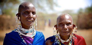 Masai kvinder i Tanzania