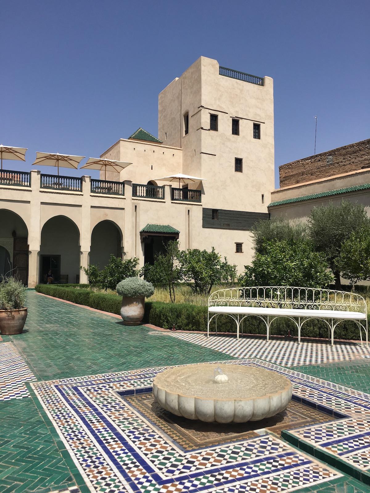 Jardin Secret hemmelig have i Marrakech