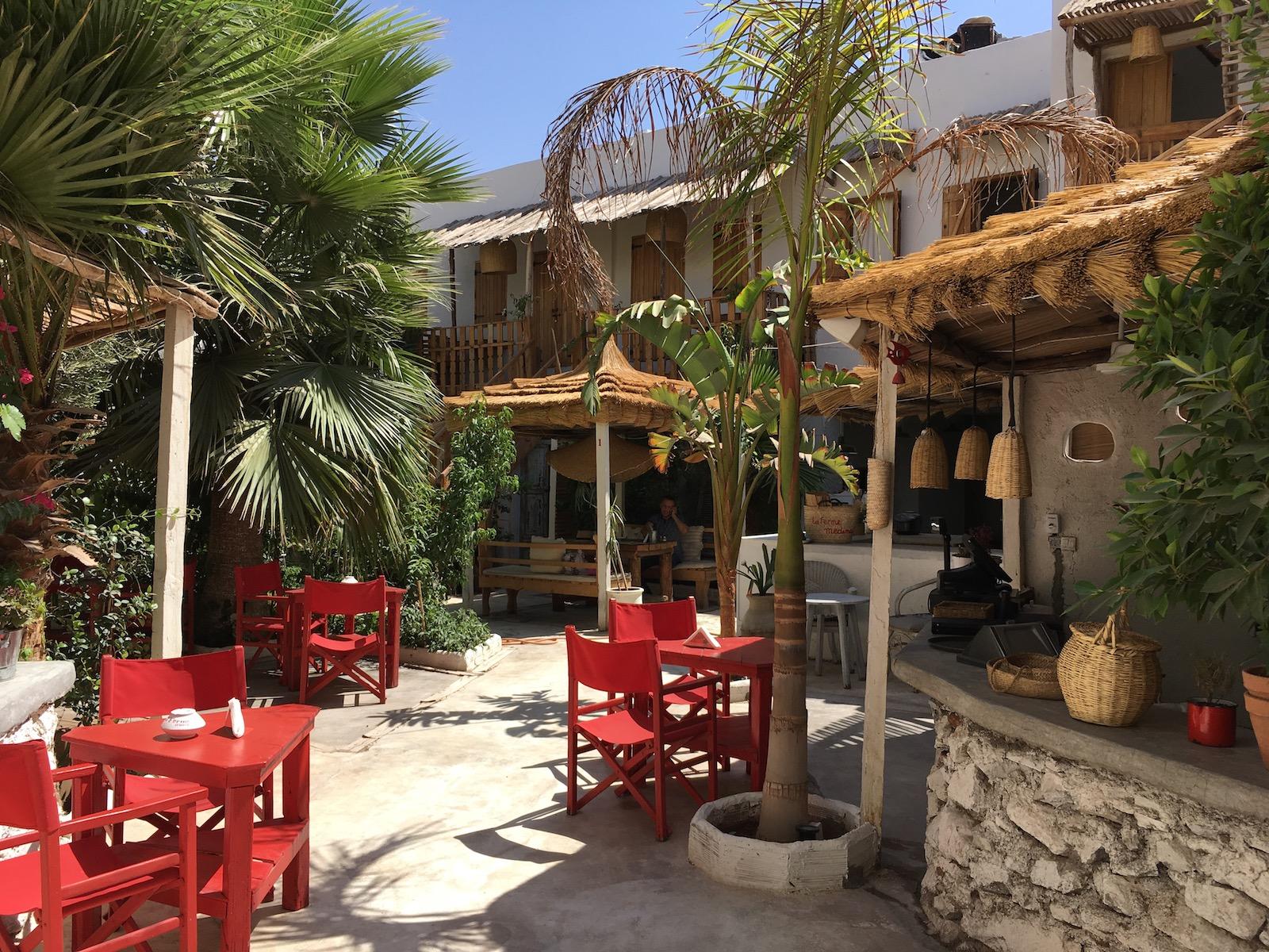 Marrakech restaurant La Ferme Medina