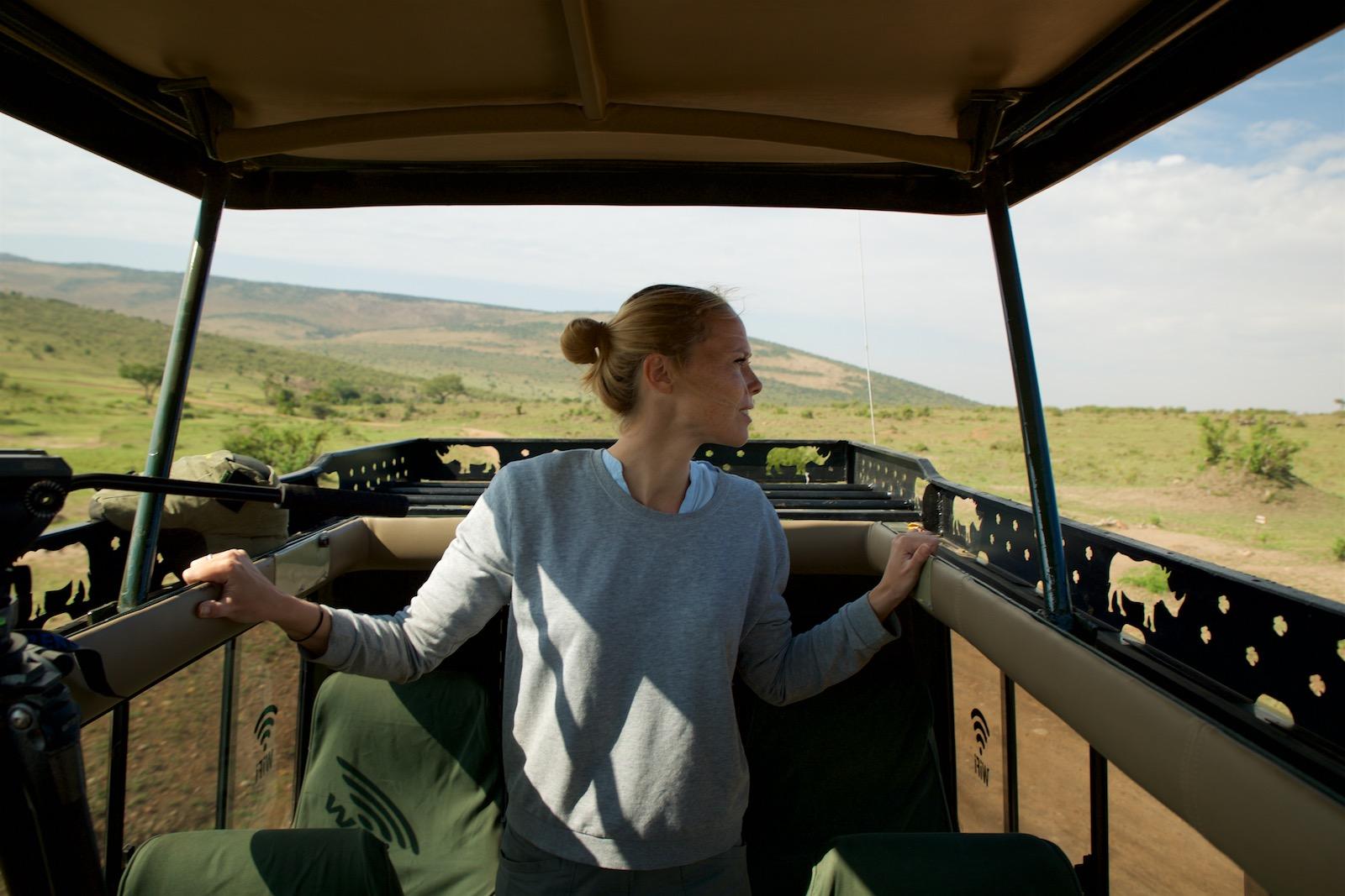 Safarijeep Afrika